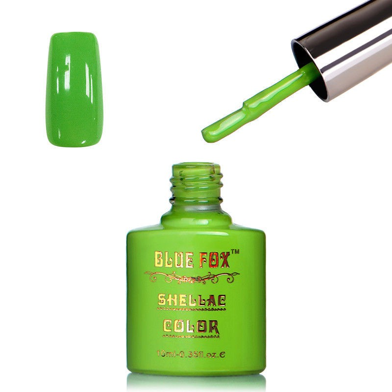 Blue Fox Green Grass Gelnagellak