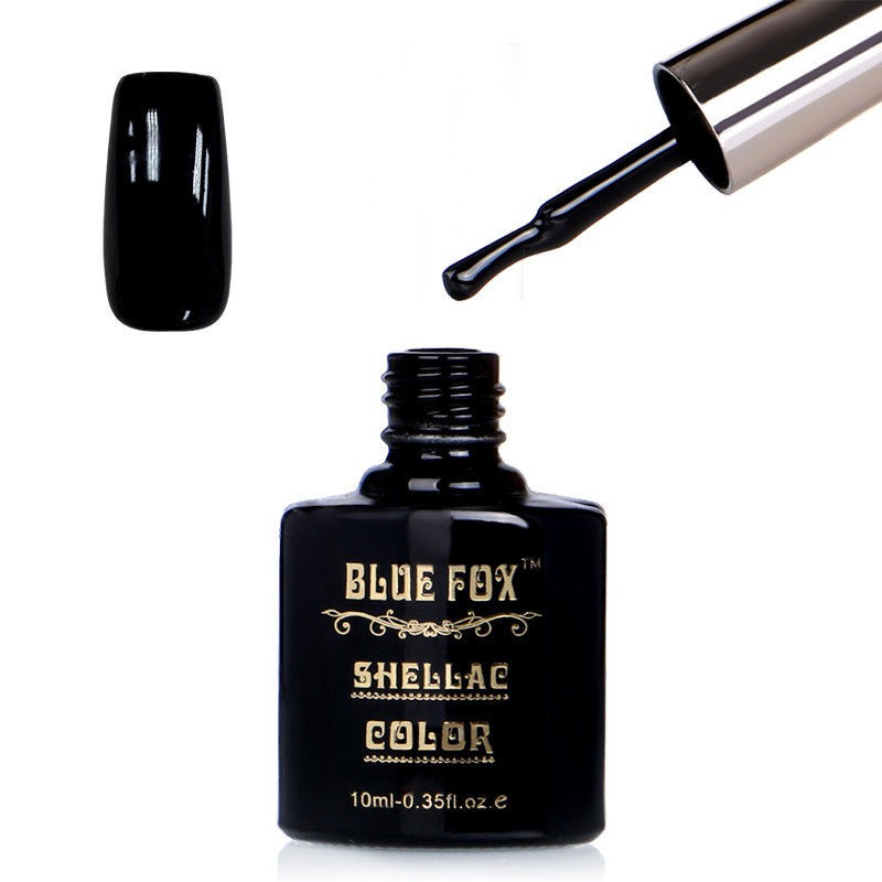 Blue Fox Black Gelnagellak