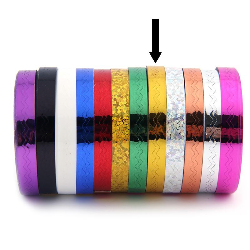 Striping Tape Goud (Golfjes)