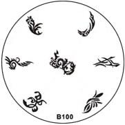 Stempel Figuren Plaatje 100