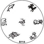 Stempel Figuren Plaatje 114