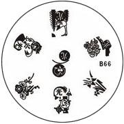 Stempel Figuren Plaatje 66