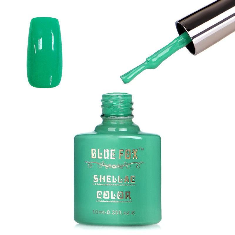 Blue Fox Sapphire Cyan Gelnagellak