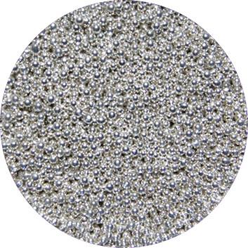 Kaviaar Nail Art Zilver