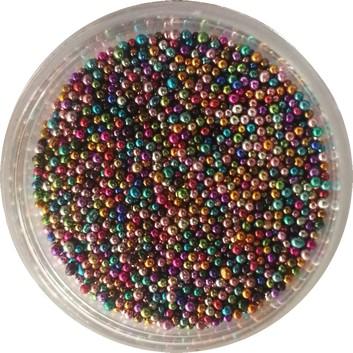 Kaviaar Nail Art Kleuren Spikkels