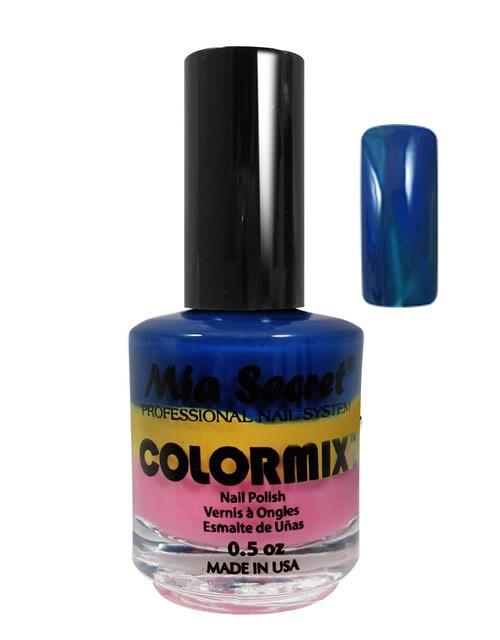 Kleurenmix Blauw Geel Roze