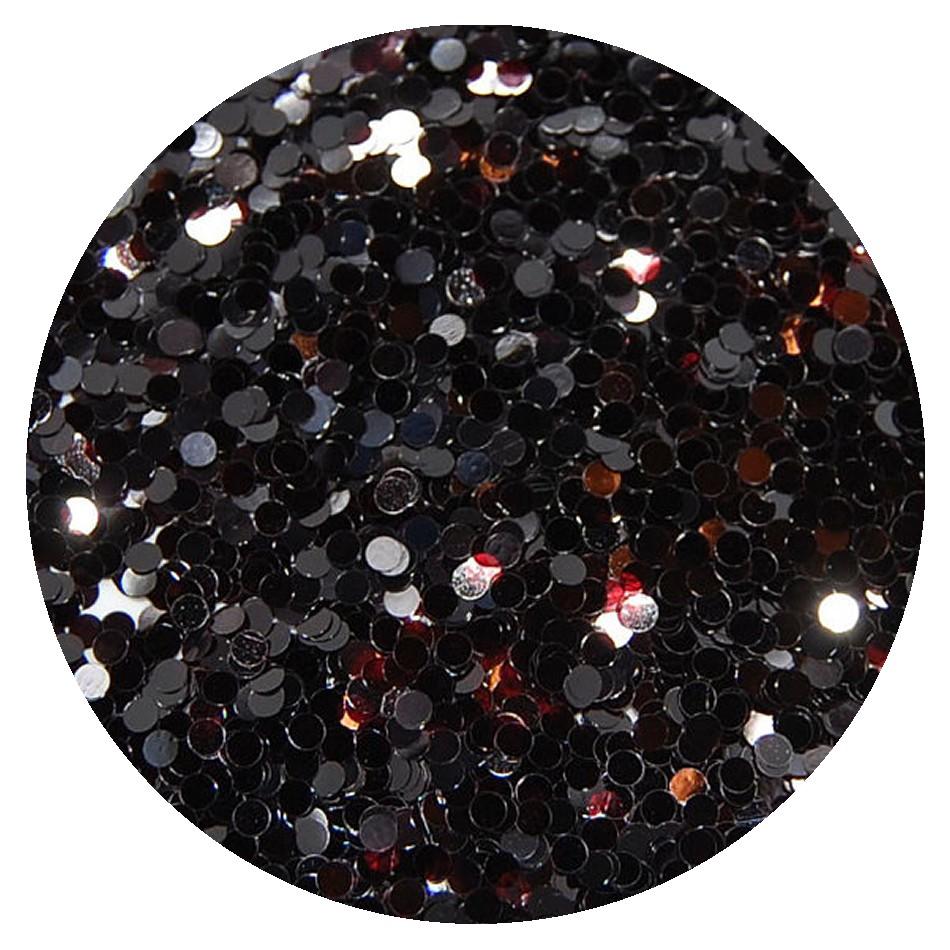 Glitters Zwart Grof