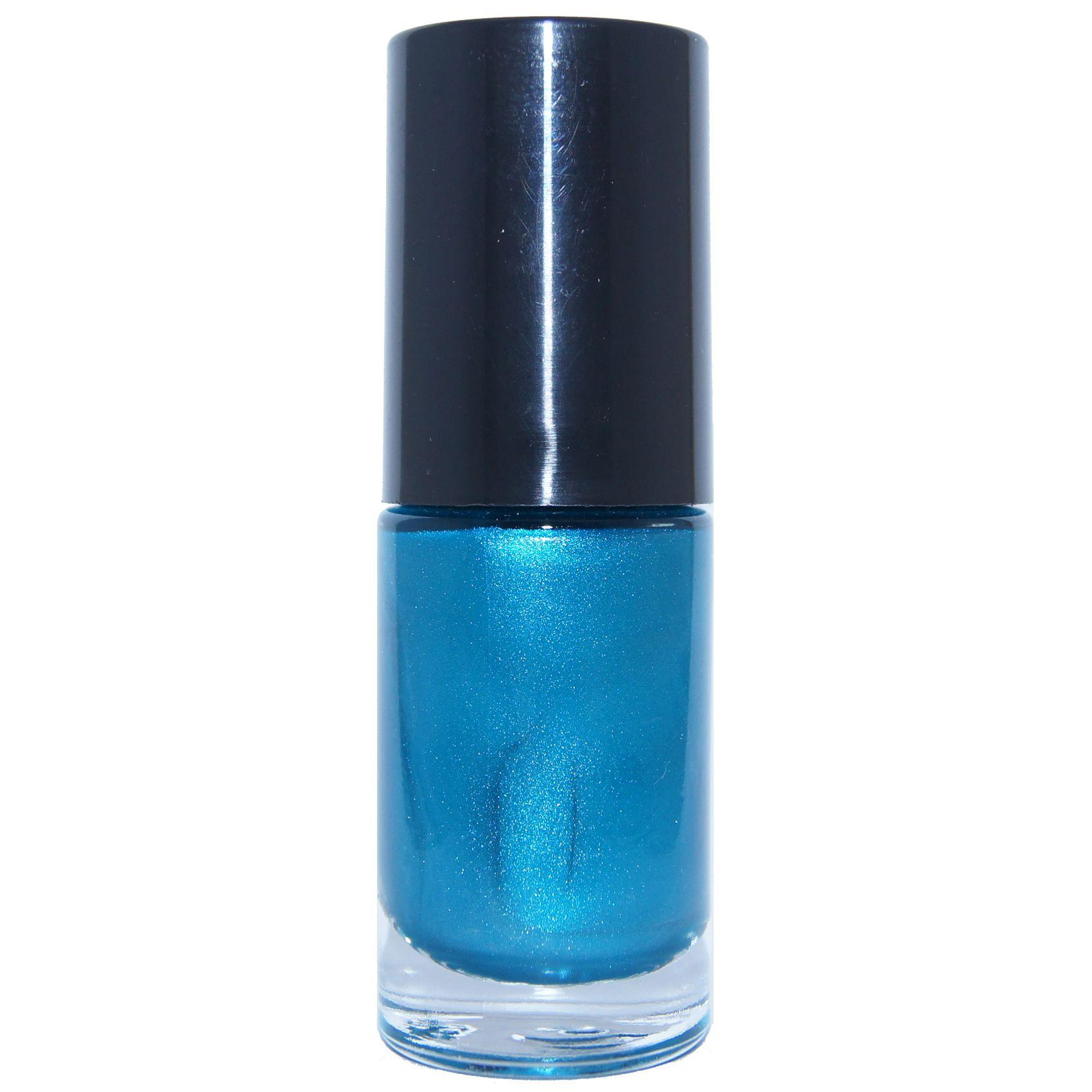 Nagellak Parelmoer Blauw