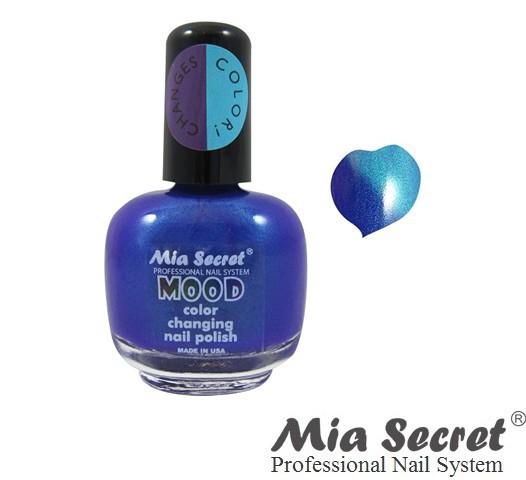 Mood Nagellak Morado Azul