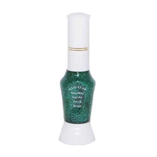 Nagellakpen Glitters Groen
