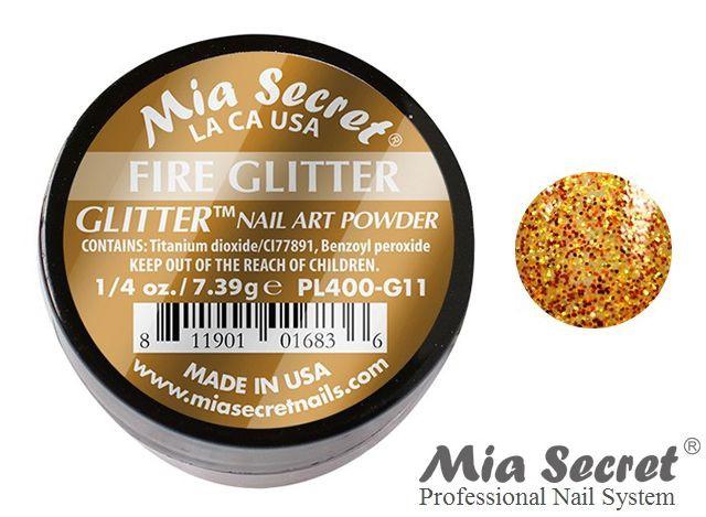 Glitter Acrylpoeder Fire