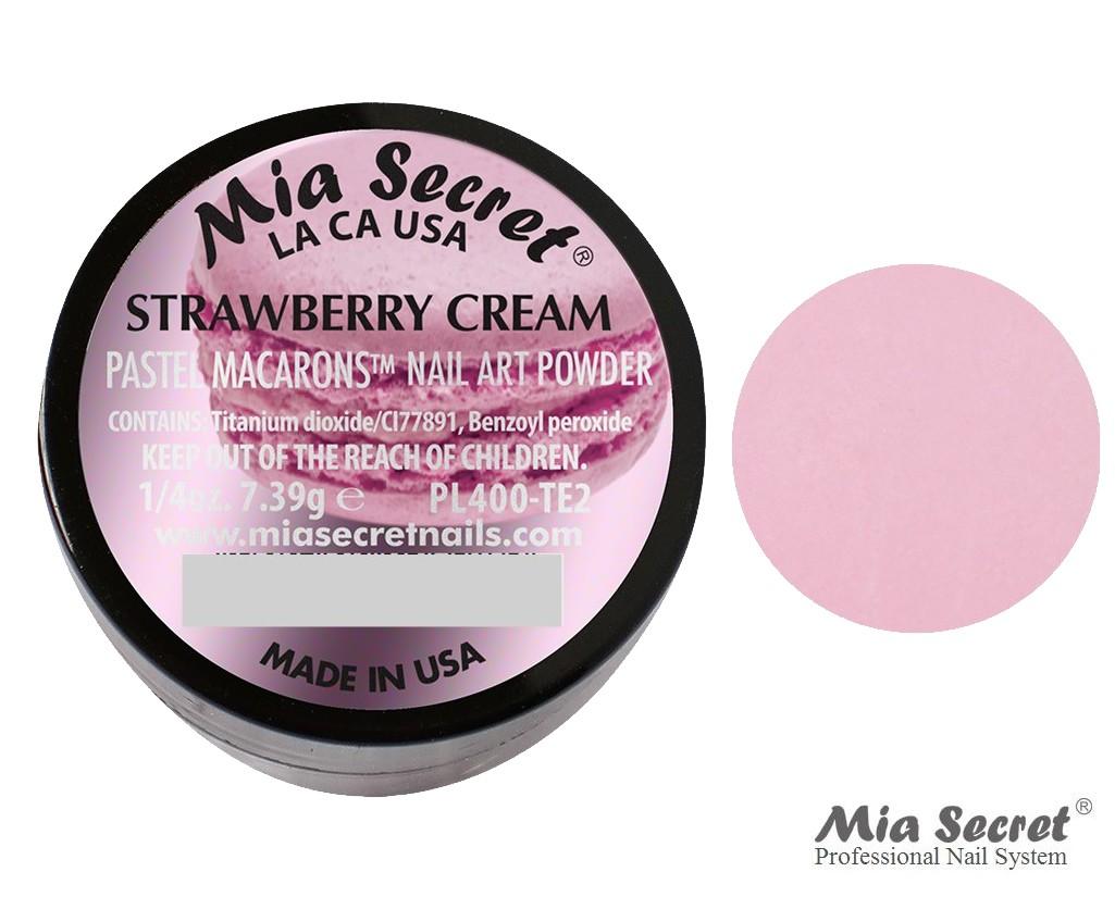 Pastel Macarons Acrylpoeder Strawberry Cream