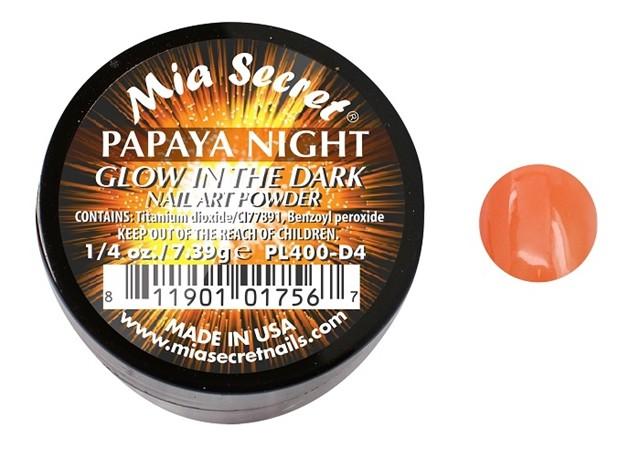 Glow in the Dark Acrylpoeder Papaya Night