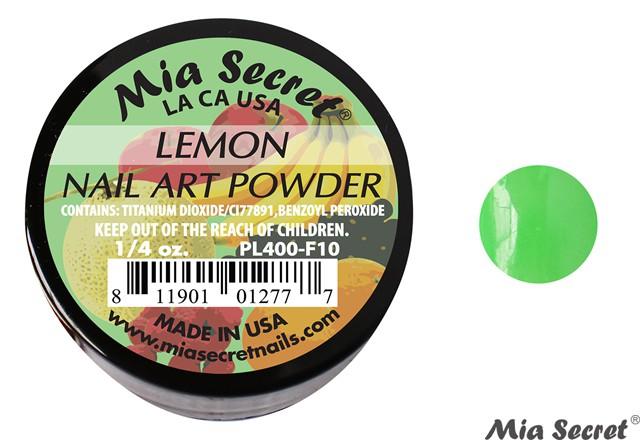 Fruity Acrylpoeder Lemon