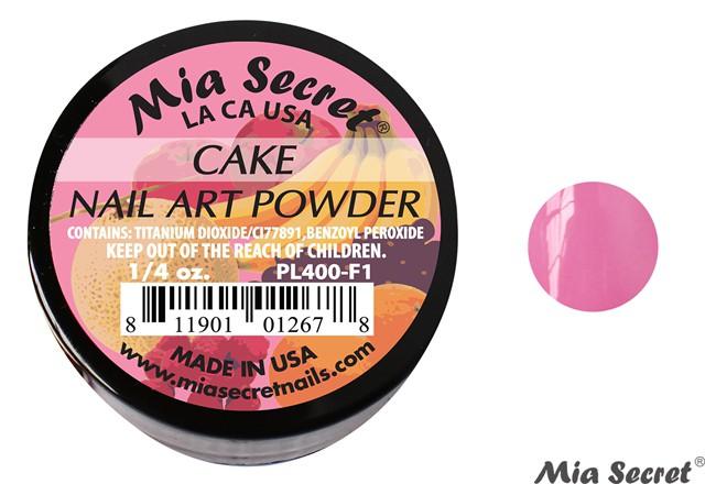 Fruity Acrylpoeder Cake