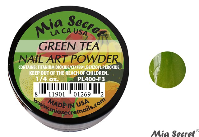 Fruity Acrylpoeder Green Tea