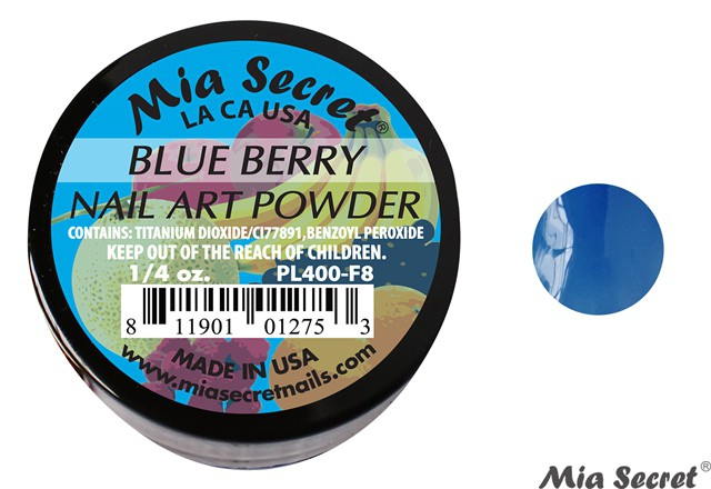 Fruity Acrylpoeder Blue Berry