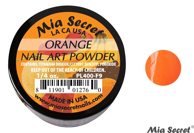Fruity Acrylpoeder Orange