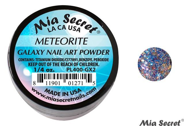 Galaxy Acrylpoeder Meteorite