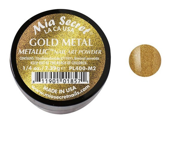Metallic Acrylpoeder Gold Metal