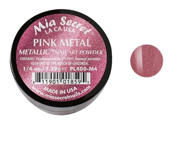 Metallic Acrylpoeder  Pink Metal