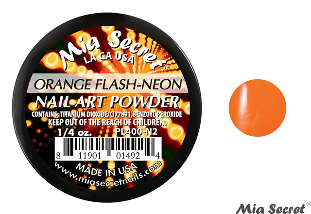 Flash-Neon Acrylpoeder Orange