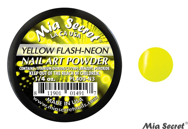 Flash-Neon Acrylpoeder Yellow