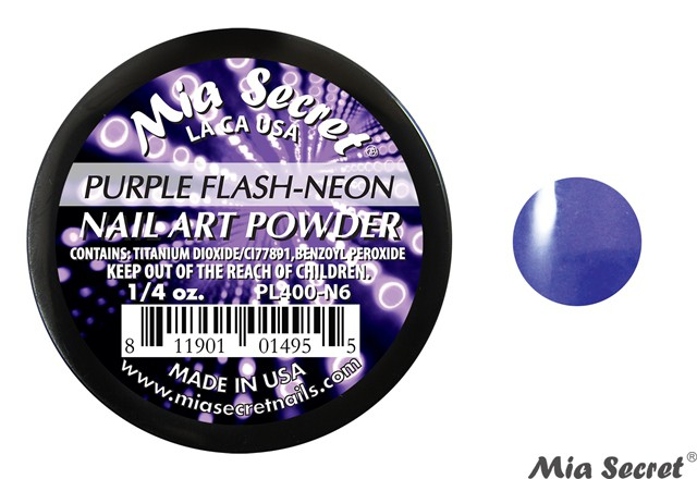Flash-Neon Acrylpoeder Purple