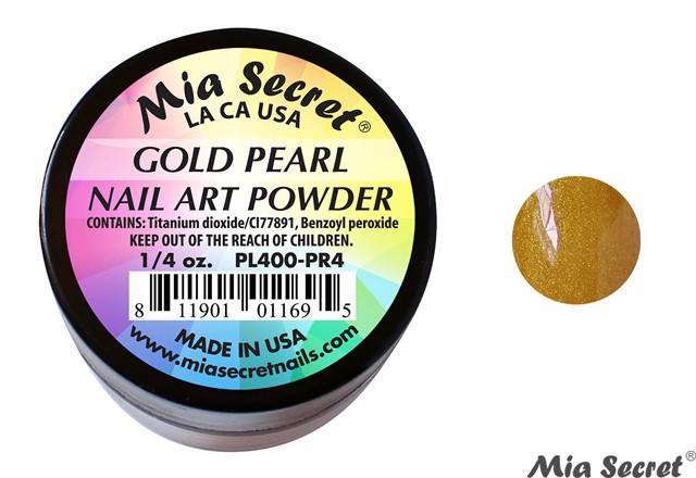 Pearl Acrylpoeder Gold
