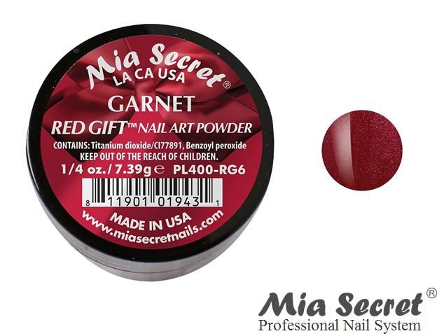 Red Gift Acrylpoeder Garnet