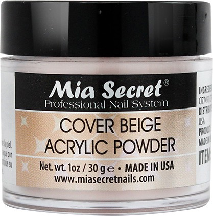 Cover Acryl Poeder Beige 30ml.