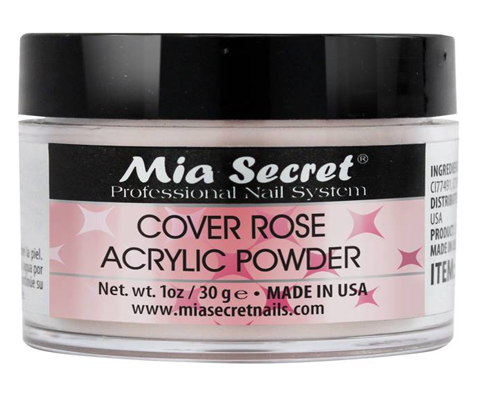 Cover Acryl Poeder Rose 30ml.
