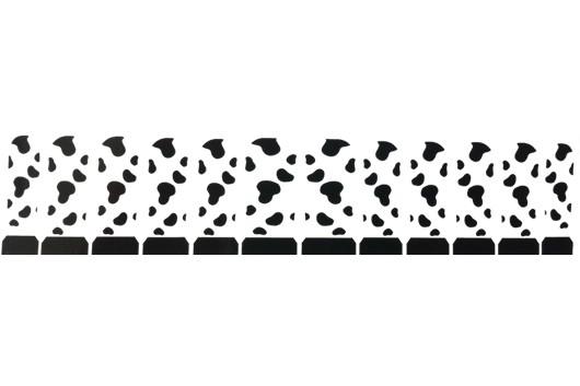 Nagel Sticker Koeienvlekken