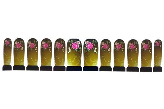 Nagel Sticker Roosje