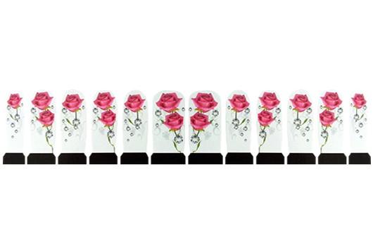 Nagelstickers Diamant Roze