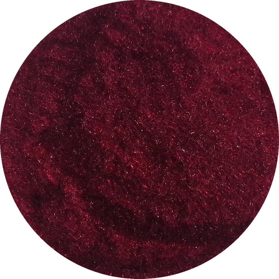 Vilt Poeder Bordeaux Rood