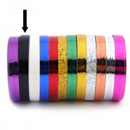 Striping Tape Zwart (Golfjes)