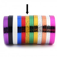 Striping Tape Glitter Goud (Golfjes)