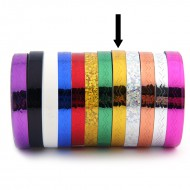 Striping Tape Goud (Golfjes)