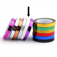 Striping Tape Wit (Golfjes)