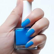 Nagellak Mat Licht Blauw