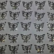 Metal Stud - Vlinder