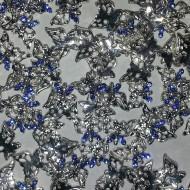 Metal Stud - Vlinder Blauw