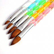 Acryl Penselen (5 kleuren)