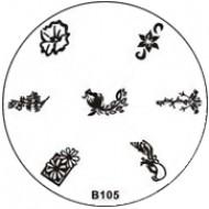 Stempel Figuren Plaatje 105