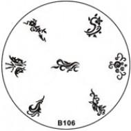 Stempel Figuren Plaatje 106