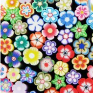 Fimo Bloemen Close-up