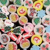 Fimo Kerst Close-up
