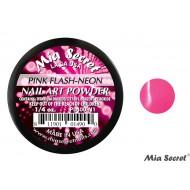 Flash-Neon Acrylpoeder Pink