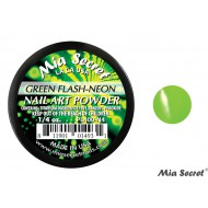 Flash-Neon Acrylpoeder Green